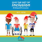 Give the Gift of Inclusion this Holiday Season!  Announcing the 12 Days of Inclusion