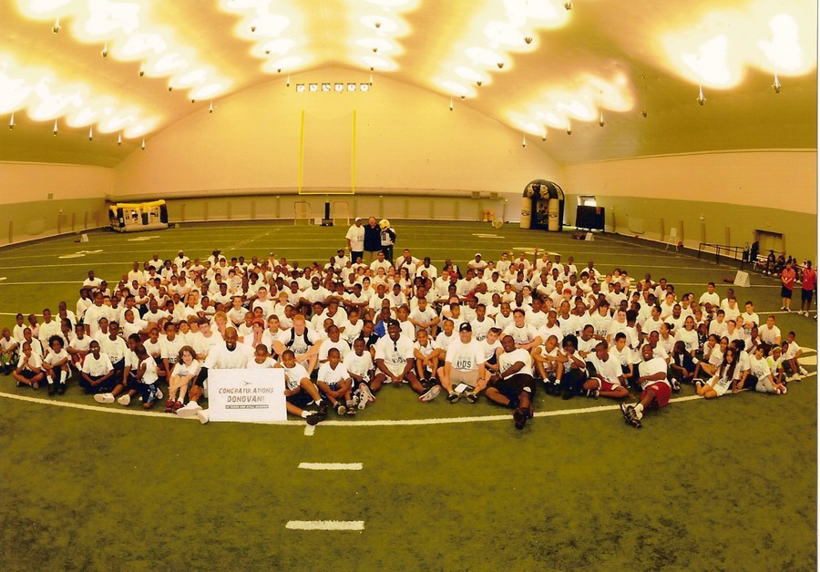 Donovan McNabb All-Star Kids Clinic