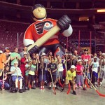 Flyers bond with special-needs youngsters at clinic